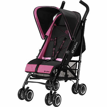 Cybex Onyx Black Stroller - Purple Potion