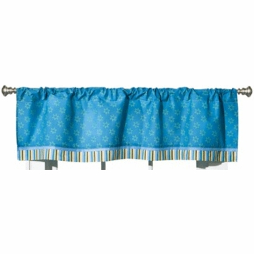 CoCaLo Peek A Boo Monsters Window Valance