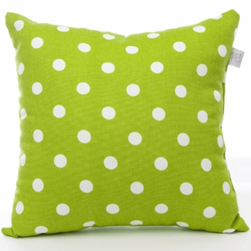 Sweet Potato Dottie Small Green Dot Pillow