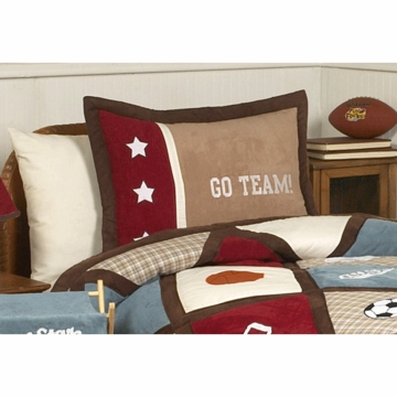 Sweet JoJo Designs All Star Sport Pillow Sham