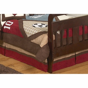 Sweet JoJo Designs All Star Sport Toddler Bed Skirt