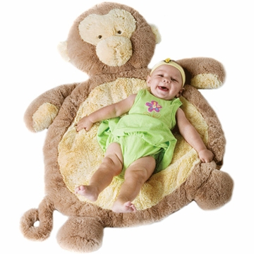Bestever Monkey Natural Baby Mat