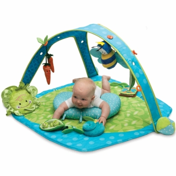 Boppy Play Gym in Garden Patch