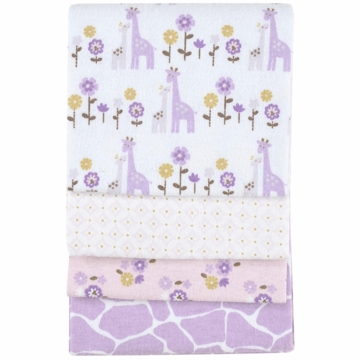 Carter's 4-Pack Receiving Blankets - Giraffe