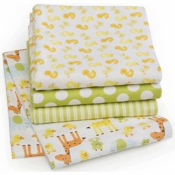 Carter's 4-Pack Receiving Blankets - Duck