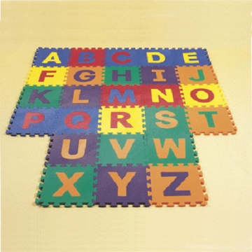 Edushape Edu Tiles Letters 26 Pc