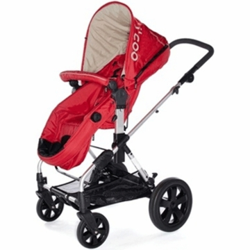 I�Coo 2011 Pacifc Stroller in Tomato