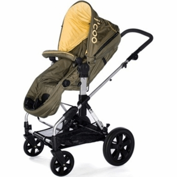 I�Coo 2011 Pacifc Stroller in Timber