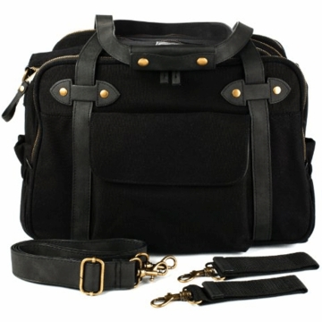 SoYoung Charlie Diaper Bag in Black