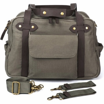 SoYoung Charlie Diaper Bag in Khaki Green