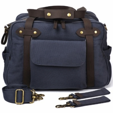 SoYoung Charlie Diaper Bag in Slate (Blue/Grey)