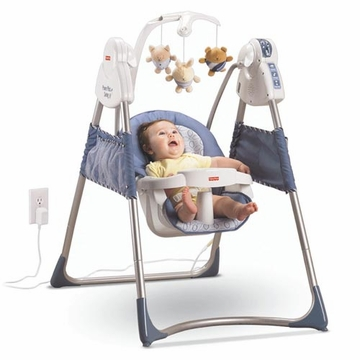 Fisher-Price Power Plus Plug in Swing M7590