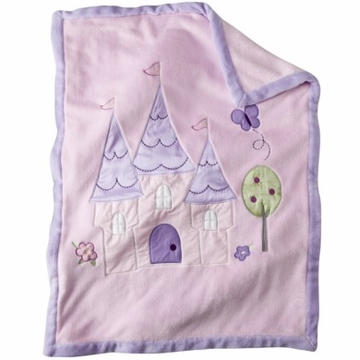 Kidsline Tiddliwinks Princess Jumbo Applique Blanket