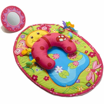 Tiny Love Tummy Time Fun Ladybug Pillow & Mat