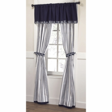 CoCaLo Couture Harper Two Panels Drapes with Tiebacks