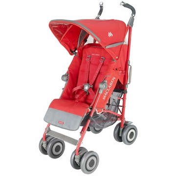 Maclaren Techno XT Stroller - Bittersweet (Orange) on Bittersweet (Orange) Frame