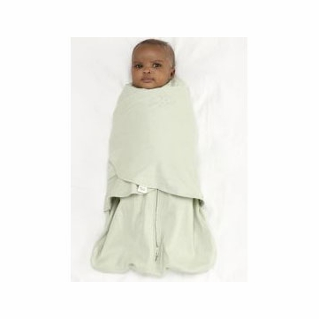 Halo 100% Cotton SleepSack Swaddle - Sage - Newborn