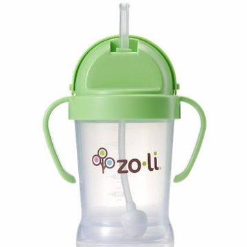 ZoLi BOT 6 oz Straw Sippy Cup - Green