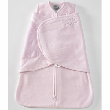 Halo Micro-Fleece SleepSack Swaddle - Soft Pink - Newborn