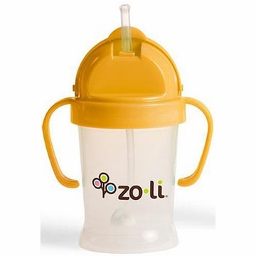 ZoLi BOT 6 oz Straw Sippy Cup - Orange