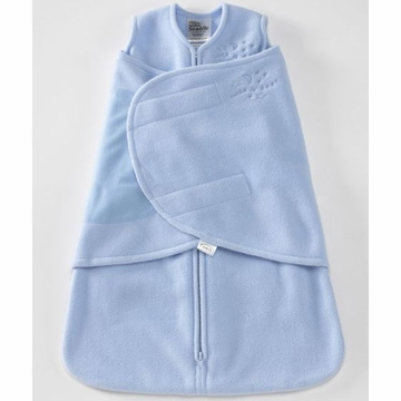 Halo Micro-Fleece SleepSack Swaddle - Baby Blue - Small