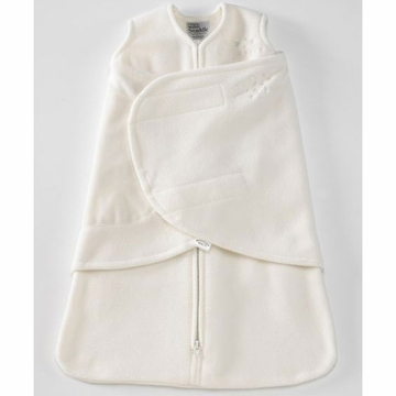 Halo Micro-Fleece SleepSack Swaddle - Cream - Small