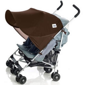 Protect-A-Bub Classic Sunshade Twin - Brown