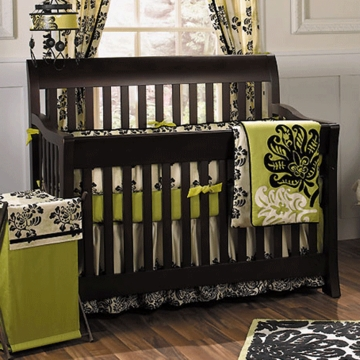 CoCaLo Couture Harlow 4 Piece Baby Crib Bedding Set