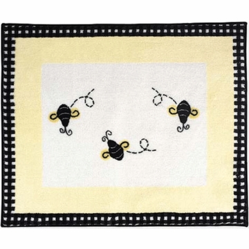 Sweet JoJo Designs Bumble Bee Rug