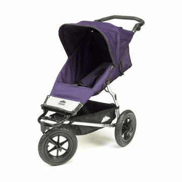 Mountain Buggy Urban Single stroller 2007 Plum Dot