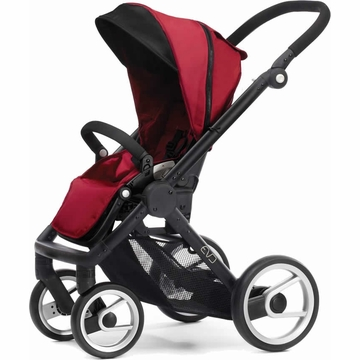 Mutsy EVO Stroller - Red / Black
