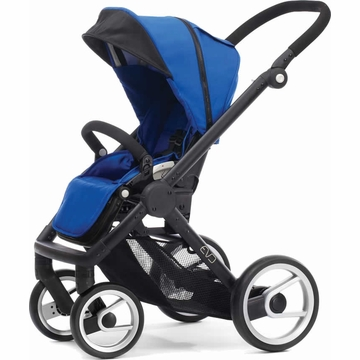 Mutsy EVO Stroller - Bright Blue / Black