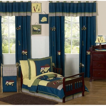 Sweet JoJo Designs Construction Zone 5 Piece Toddler Bedding Set