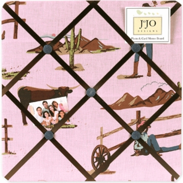 Sweet JoJo Designs Cowgirl Memo Board