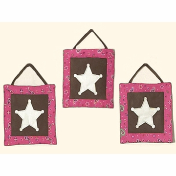 Sweet JoJo Designs Cowgirl Walll Hanging