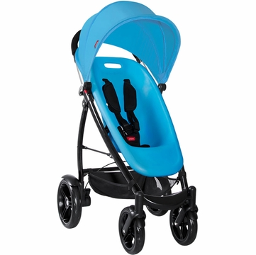 Phil & Teds Smart Buggy in Bubblegum Blue