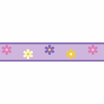 Sweet JoJo Designs Danielle's Daisies Wall Border