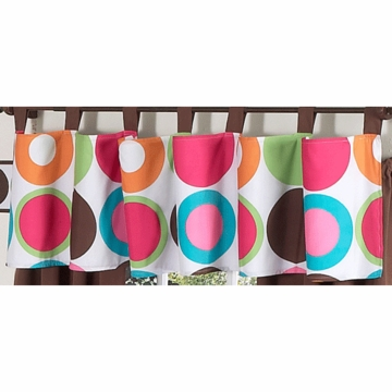 Sweet JoJo Designs Deco Dot Window Valance