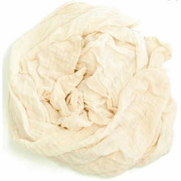 Weegoamigo Solid Muslin Swaddle - Antique