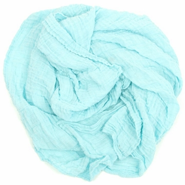 Weegoamigo Solid Muslin Swaddle - Tiffany