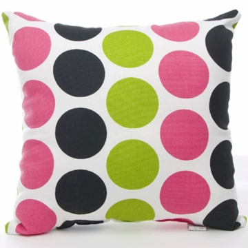 Sweet Potato Dottie Multi Color Dot Pillow