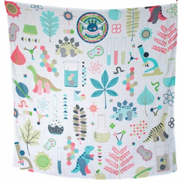 Weegoamigo Printed Muslin Swaddle - Weego Science