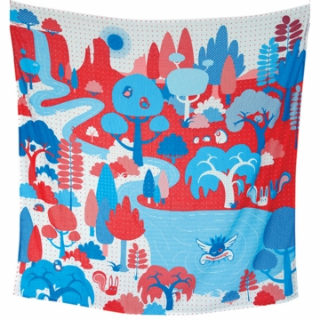 Weegoamigo Printed Muslin Swaddle - Woodlands