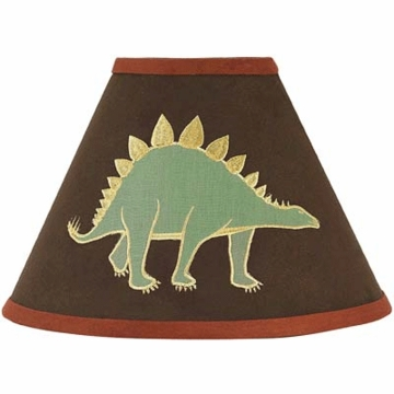 Sweet JoJo Designs Dinosaur Land Lamp Shade