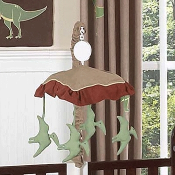 Sweet JoJo Designs Dinosaur Land Musical Mobile