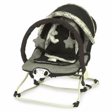 Graco Travel Lite Folding Bouncer in Central Park 8960CNP