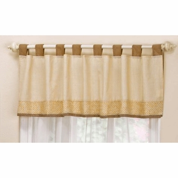 CoCaLo Snickerdoodle Window Valance