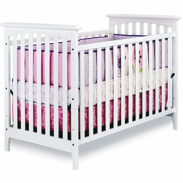 Child Craft Monterey Traditional Crib in Matte White