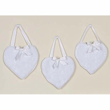 Sweet JoJo Designs Eyelet White Wall Hangings