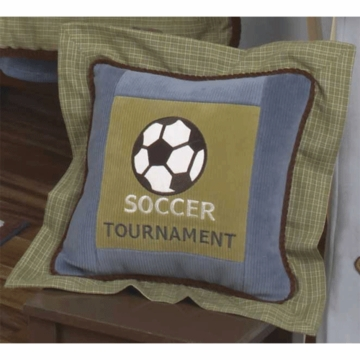 CoCaLo Sports Fan Decorative Pillow